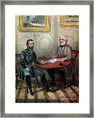 American Civil War  Framed Print by Photo Researchers