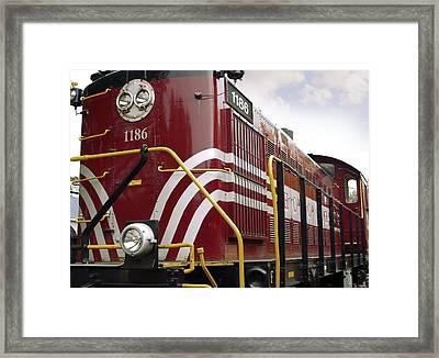 American Diesel Locomotive Framed Print