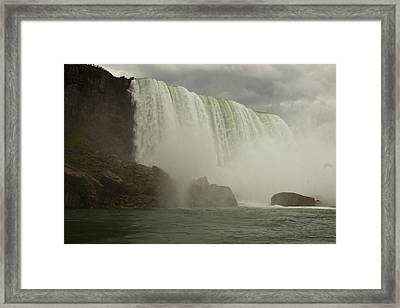 Framed Print featuring the photograph American Falls by Darleen Stry