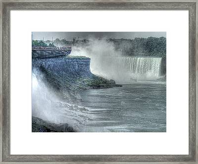 American Falls Framed Print by William Fields