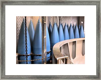 American Fire Power Framed Print by JC Findley