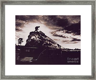 American Freedom Train Framed Print by Jim Wright