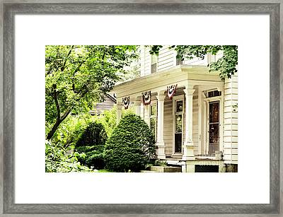 American Home Framed Print by HD Connelly