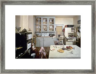 American Kitchen Framed Print by Granger
