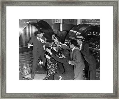 American Madness, 1932 Framed Print