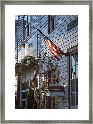 American Morning Framed Print