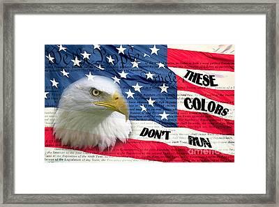 American Pride Framed Print by Joanne Kocwin