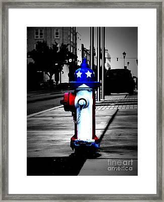 American Pride Framed Print by Lj Lambert