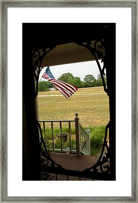 American Pride  Framed Print by Toma Caul