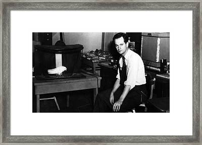 American Psychologist And Author B.f Framed Print by Everett
