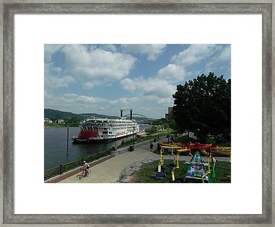 American Queen Framed Print by Willy  Nelson