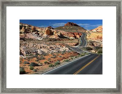 American Roadtrip Framed Print
