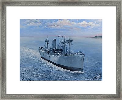 American Victory Framed Print by Larry Whitler