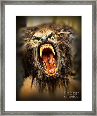 American Werewolf Framed Print by Paul Ward
