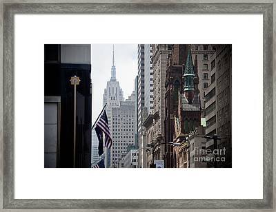Americana Framed Print by Steven Gray