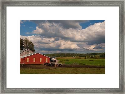 America's Breadbasket Framed Print by Cindy Haggerty