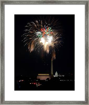 America's Party Framed Print by David Hahn