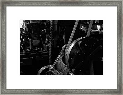 Framed Print featuring the photograph Ames Mfg Co by Tom Singleton