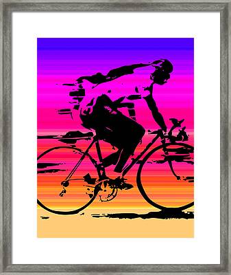 Amf Racer Framed Print by Artistic Photos