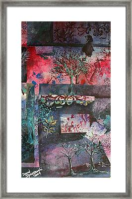 Amish Abstract 2 Framed Print by David Ignaszewski