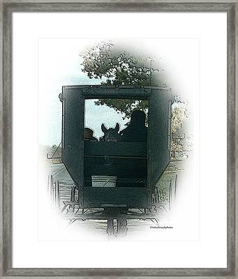 Amish Buggy Ride Framed Print