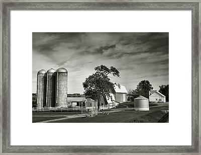 Amish Farmstead II Framed Print