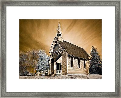Amityville Chapel Framed Print