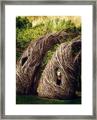 Among The Hidden Framed Print by Laura George