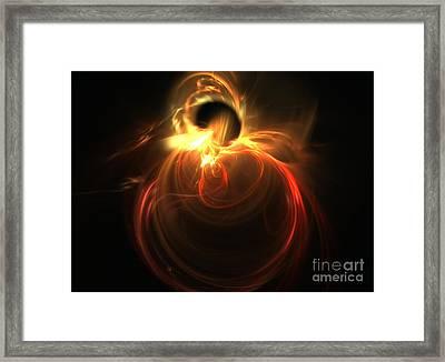 Amorphous Framed Print by Kim Sy Ok