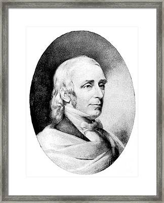 Amos Bronson Alcott, American Educator Framed Print by Photo Researchers
