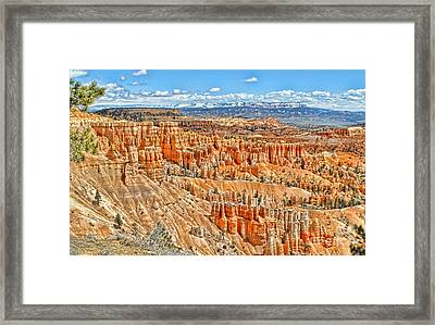 Amphitheater  Framed Print by Jason Abando