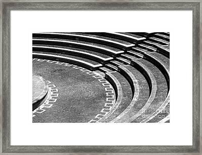 Amphitheatre Framed Print by Gaspar Avila