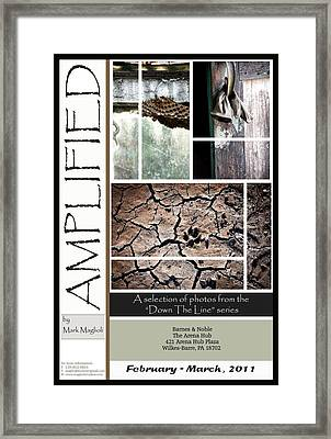 Amplified Poster Framed Print by Maglioli Studios