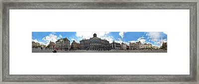 Amsterdam - Dam Square - 02 Framed Print by Gregory Dyer