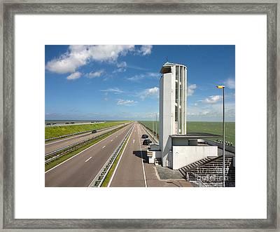 Amsterdam Dyke - 01 Framed Print by Gregory Dyer