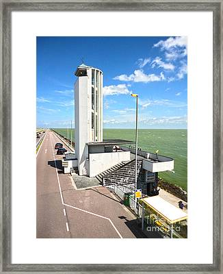 Amsterdam Dyke - 02 Framed Print by Gregory Dyer
