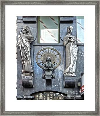 Amsterdam Gargoyle - 02 Framed Print by Gregory Dyer