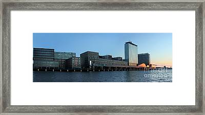 Amsterdam - In The Bay- 02 Framed Print by Gregory Dyer