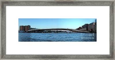 Amsterdam - In The Bay- 03 Framed Print by Gregory Dyer