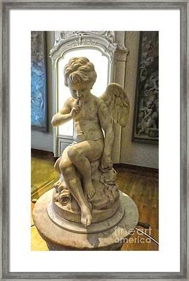 Amsterdam - Rijksmuseum Cherub - 02 Framed Print by Gregory Dyer