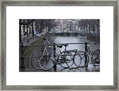 Amsterdam The Netherlands Framed Print by Bob Christopher
