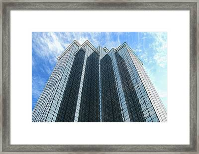 Amway Grand Plaza Hotel Framed Print by Michael Peychich