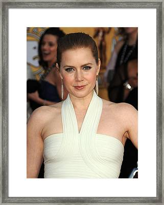 Amy Adams At Arrivals For 17th Annual Framed Print by Everett