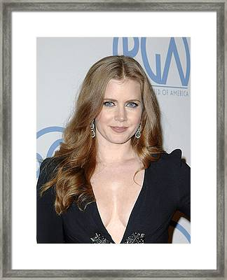 Amy Adams In Attendance For 22nd Annual Framed Print by Everett