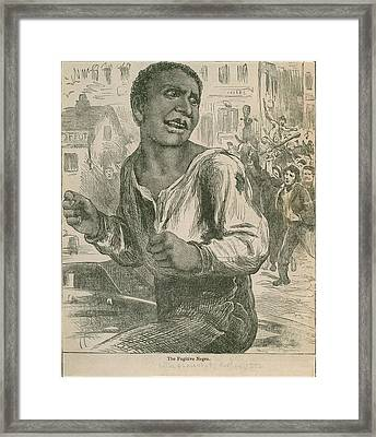 An 1882 Engraving Entitled, The Framed Print