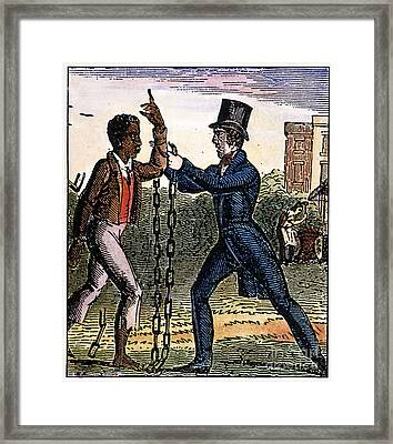 An Abolitionist Framed Print by Granger