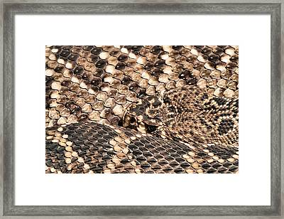 An Abstract Danger Framed Print by JC Findley
