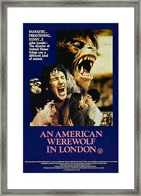 An American Werewolf In London, David Framed Print