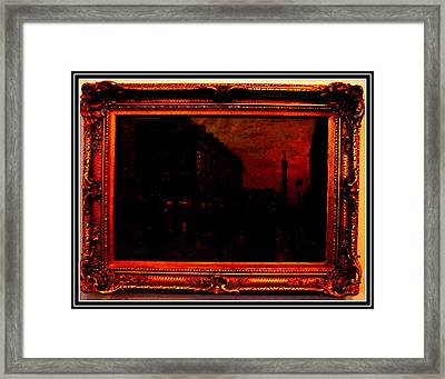 An Antique Framed Print by Anand Swaroop Manchiraju