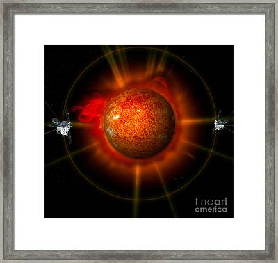 An Artists Concept Of The Stereo Framed Print by Stocktrek Images